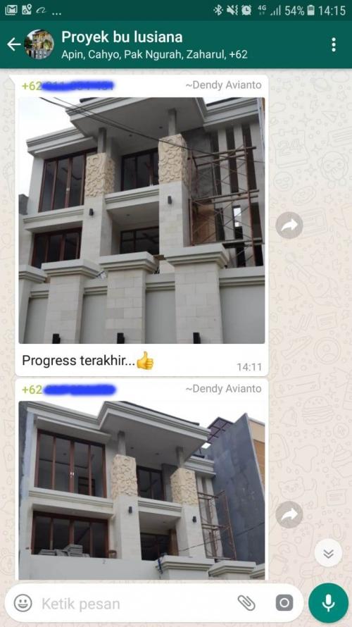 Testimonial Desain Rumah Villa Bali 3 Lantai Ibu Lusiana