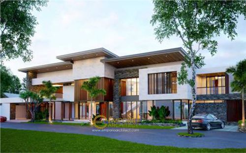 Desain Villa Emporio Architect