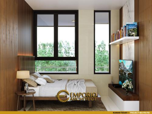 Desain Interior Desain Apartemen Modern 3 Lantai Ibu Fei-Fei