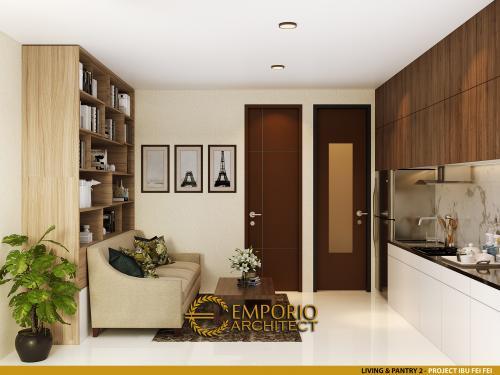 Interior Design Mrs. Fei Fei Apartment 3 Floors Design - Bandung, Jawa Barat
