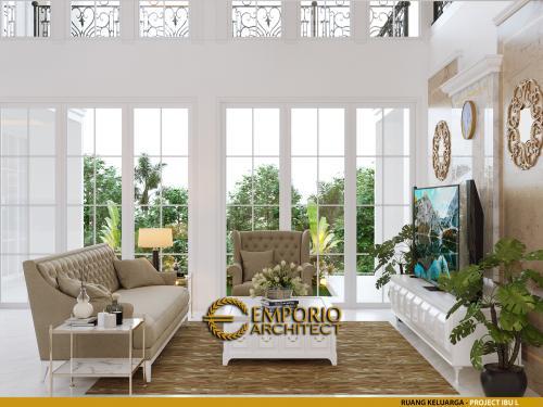 Interior Design Mrs. L Classic Modern House 3.5 Floors Design - Banjarmasin, Kalimantan Selatan