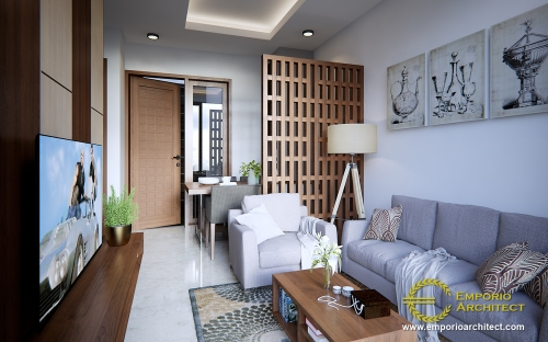 Interior Design Kaliska Cluster 1 Floor Design - Karawang, Jawa Barat