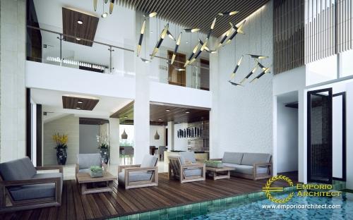 Desain Interior Desain Hotel Modern 4 Lantai Ar Rayyan