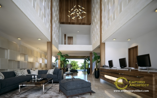 Interior Design Ar Rayyan Modern Hotel 2 Floors Design - Banjarmasin Kalimantan