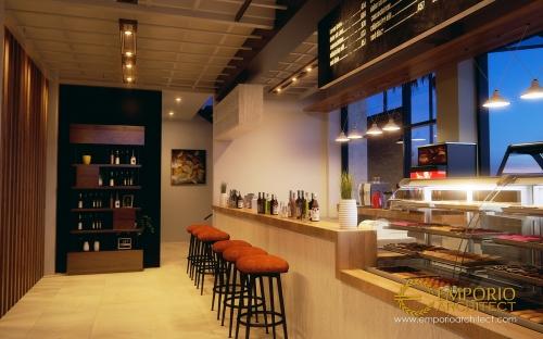 Desain Interior Desain Kantor Modern 5 Lantai Bapak Teddy