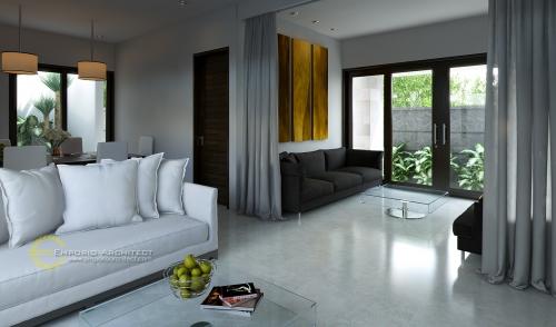 Desain Interior Desain Nuansa Bali Residence Style Villa Bali 1 Lantai