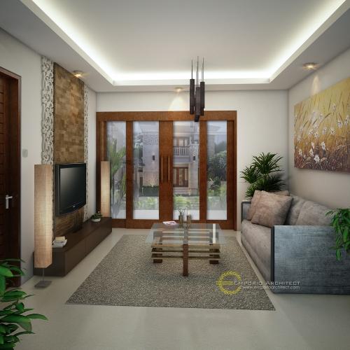 Desain Interior Desain Puri Bakung Cluster Style Villa Bali 2 Lantai