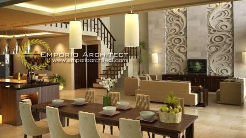 Interior Design Mr. Artana Villa Bali House 2 Floors Design - Denpasar, Bali