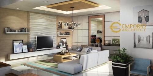Desain Interior Desain Rumah Modern 2 Lantai Bapak Aat