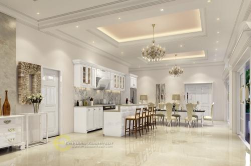 Desain Interior Desain Rumah Classic 1 Lantai Bapak Agus