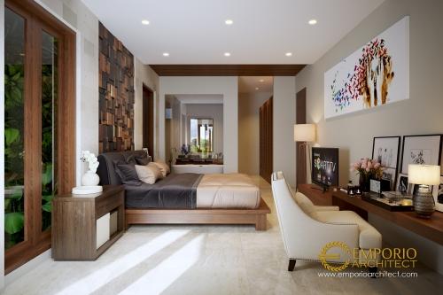 Desain Interior Desain Rumah Modern 2 Lantai Bapak Ahyar