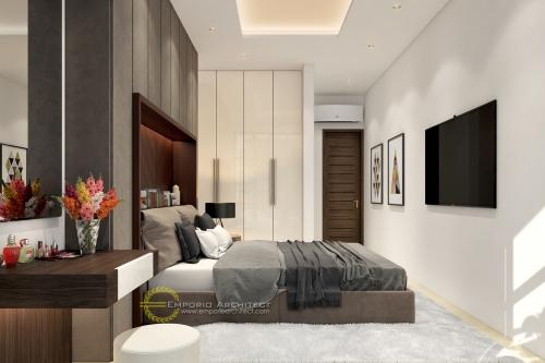 Desain Interior Desain Rumah Modern 3 Lantai Bapak Alvin