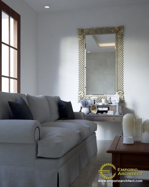 Desain Interior Desain Rumah Villa Bali 2 Lantai Bapak Andre II