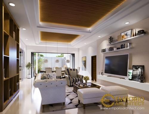 Desain Interior Desain Rumah Modern 2 Lantai Bapak Andre