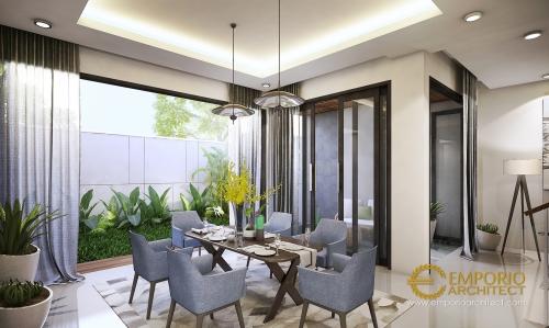 Desain Interior Desain Rumah Modern 2 Lantai Bapak Andrean Siahaan