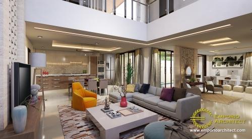 Interior Design Mr. Anthon Modern House 2 Floors Design - Jakarta