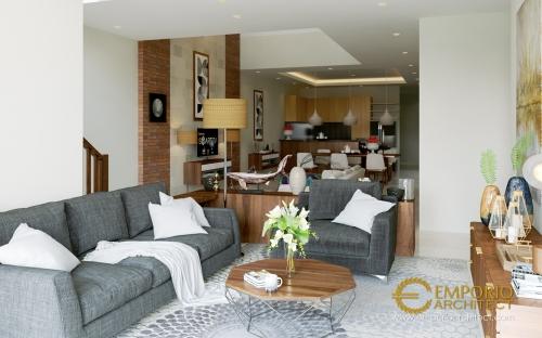Desain Interior Desain Rumah Villa Bali 2 Lantai Bapak Arka