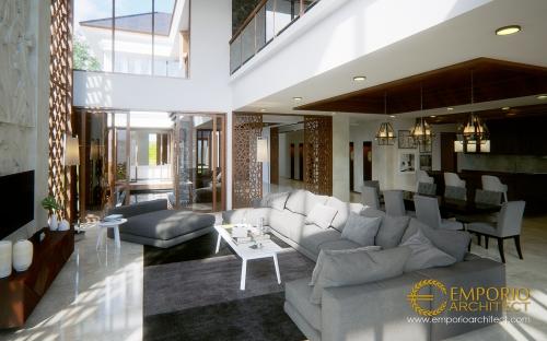 Desain Interior Desain Rumah Villa Bali 2 Lantai Bapak Buddy