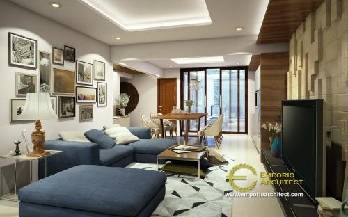 Desain Interior Desain Rumah Villa Bali 2 Lantai Bapak Chaerul