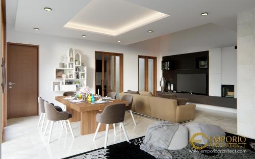 Desain Interior Desain Rumah Villa Bali 2 Lantai Bapak David