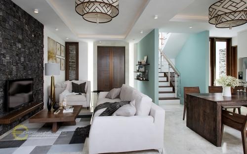 Desain Interior Desain Rumah Villa Bali 3 Lantai Bapak Djarot