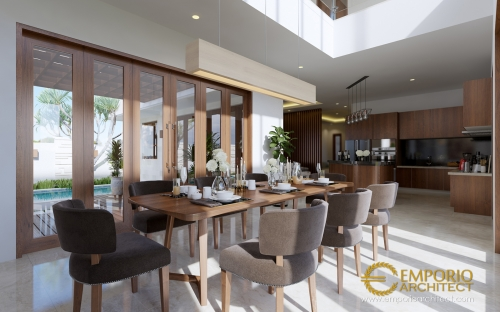 Desain Interior Desain Rumah Villa Bali 2 Lantai Bapak Dwi Harsono