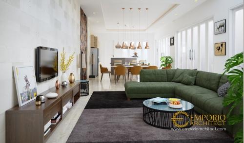 Desain Interior Desain Rumah Modern 2 Lantai Bapak Dwi Irawan