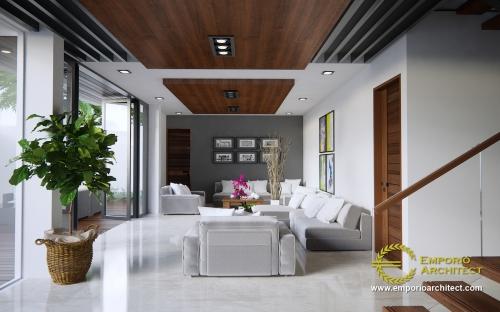 Desain Interior Desain Rumah Modern 3 Lantai Bapak Edy