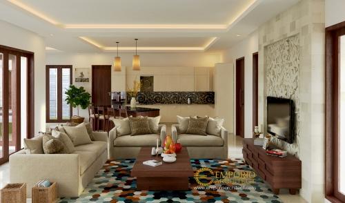 Desain Interior Desain Rumah Villa Bali 1 Lantai Bapak Fahrul