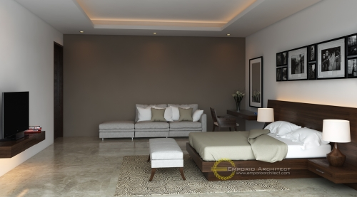 Desain Interior Desain Rumah Villa Bali 2 Lantai Bapak Faisal