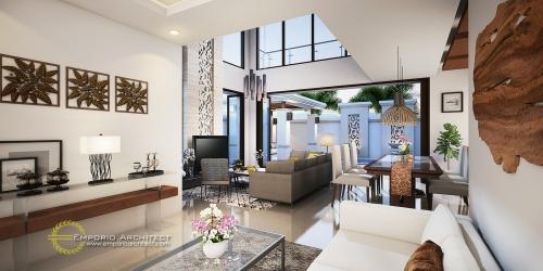 Desain Interior Desain Rumah Villa Bali 2 Lantai Bapak Faishal