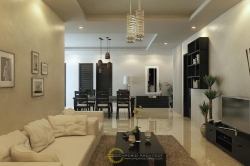 Desain Interior Desain Rumah Villa Bali 1 Lantai Bapak Ferry