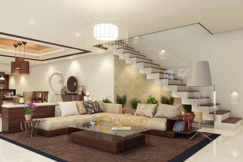 Interior Design Mr. Freddy Villa Bali House 2 Floors Design - Samarinda Kalimantan