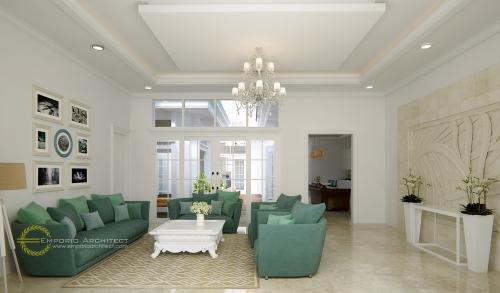 Desain Interior Desain Rumah Classic 1 Lantai Bapak Hidayat