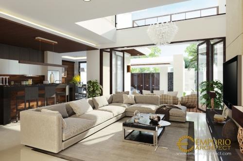 Desain Interior Desain Rumah Modern 2 Lantai Bapak Ismail