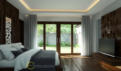 Desain Interior Desain Rumah Villa Bali 1 Lantai Bapak Made Wardana