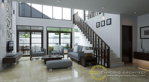 Desain Interior Desain Rumah Villa Bali 2 Lantai Bapak Mahyudin Batubara