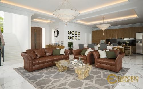 Desain Interior Desain Rumah Classic 3 Lantai Bapak Mulya