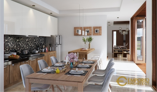 Desain Interior Desain Rumah Hook Villa Bali 2 Lantai Bapak Oki