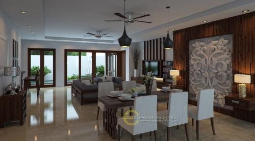 Desain Interior Desain Rumah Villa Bali 2 Lantai Bapak Puja Kartawijaya