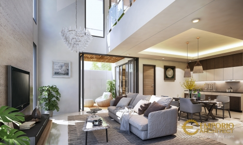 Desain Interior Desain Rumah Modern 2 Lantai Bapak Ricardo