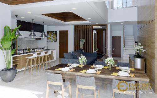 Desain Interior Desain Rumah Modern 2 Lantai Bapak Rivan