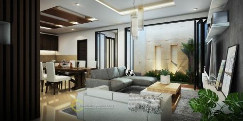 Desain Interior Desain Rumah Modern 3 Lantai Bapak Riyanto