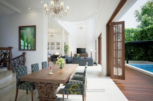 Desain Interior Desain Rumah Mediteran 3 Lantai Bapak Sanjay