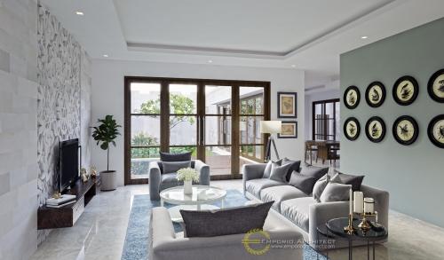 Desain Interior Desain Rumah Villa Bali 2 Lantai Bapak Soeharmin
