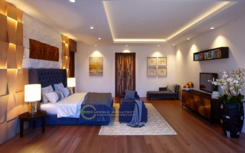 Desain Interior Desain Rumah Villa Bali 2 Lantai Bapak Tantra