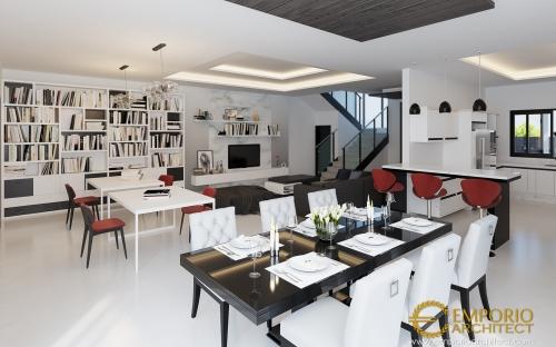 Desain Interior Desain Rumah Modern 3 Lantai Bapak Terry