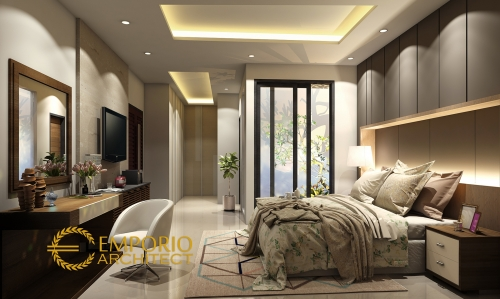 Desain Interior Desain Rumah Modern 3 Lantai Bapak Yanuarso