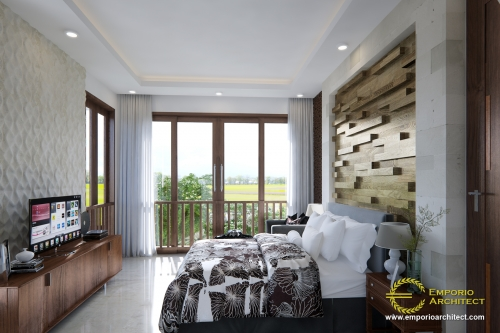 Interior Design Mr. Yien Villa Bali House 2 Floors Design - Karangasem, Bali