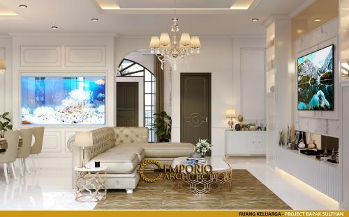 Desain Interior Desain Rumah Classic 1 Lantai Bapak Sulthan
